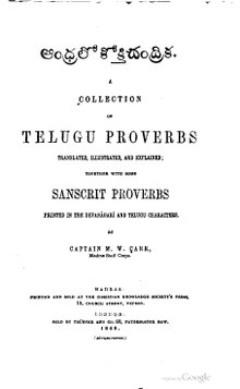A Collection of Telugu Proverbs.pdf