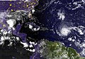 A GOES satellite image showing Hurricane Irma in the Atlantic Ocean. (37044690075).jpg