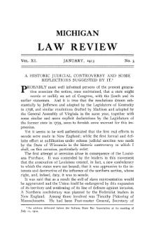 A Historic Judicial Controversy and Some Reflections (Gregory, 1913).djvu