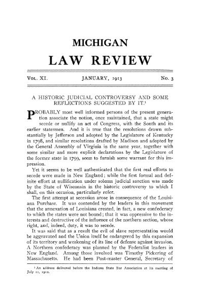 File:A Historic Judicial Controversy and Some Reflections (Gregory, 1913).djvu