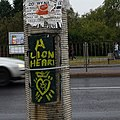 A LION HEART. Handpainted signs among all the tags always look fresh. -warszawa -mokotów (15316264221).jpg