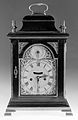 A bracket clock (shelf clock, mantel clock). Construction an Wellcome L0025731.jpg