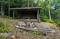 A hiking shelter by the lake Gisslaren, Upplandsleden, Sweden 22.jpg