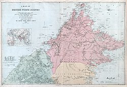 North Borneo border, 1903.
