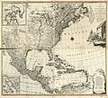 A new and correct map of North America, with the West India Islands. Divided according to the last Treaty of Peace, concluded at Paris the 20th of Jan. 1783 wherein are particularly distinguished the LOC 74693196.jpg