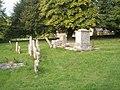 A range of memorials in Chalton Churchyard - geograph.org.uk - 1498421.jpg