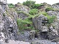 A ruined construction in the rocks - geograph.org.uk - 932225.jpg