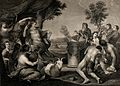 A sacrifice to Pan. Engraving by F.G. Aliamet, 1769, after A Wellcome V0036070.jpg