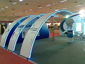 India Trade Promotion Organisation - Image: A stall at Pragati Maidan