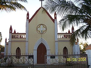 Jean-Antoine Dubois - Image: Abbe Dubois Chapel, Seringapatam