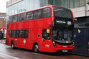 London Buses route 109 - Abellio London Alexander Dennis Enviro400 MMC in Croydon in January 2015