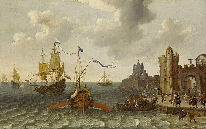 Abraham Willaerts, Galley and men of war.jpeg