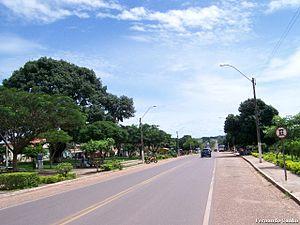 Brazilian Highway System - BR-010 in Maranhão.