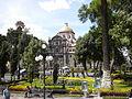 Acceso a la Catedral de Puebla.JPG