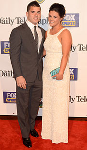 Adam Reynolds and Tallara Simon-Phillips 2012.jpg