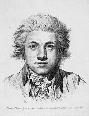 Adam Bartsch - Self-portrait, 1785