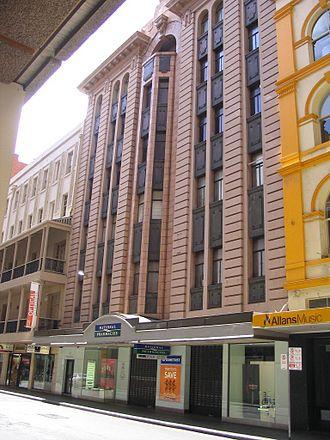 Gawler Place, Adelaide - Claridge House