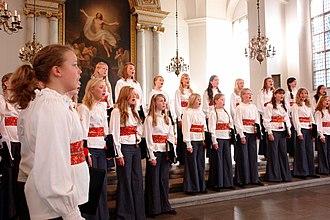 Adolf Fredrik's Music School - Adolf Fredrik's Girls Choir
