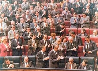 1980 vote of no confidence in the government of Adolfo Suárez