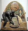 Adolphe jean lavergne per friedrich goldscheider, orologio, vienna 1903, in gesso dipinto e rame 02.jpg