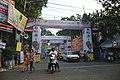 Advertisement Gateways - Durga Puja Festival - Sadananda Road - Kolkata 2017-09-26 4391.JPG