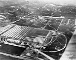 Aerial view of Curtiss company plants and flying fields, New York, circa 1917-1919 (TRANSPORT 1147).jpg
