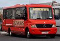 Agnews coach (XLZ 1459) Mercedes-Benz Vario, Belfast, 23 May 2011.jpg