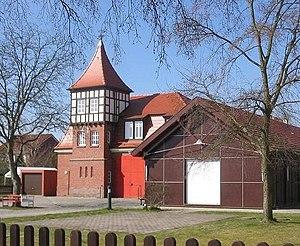 Ludwigsfelde - Image: Ahrensdorf Ludwigsfelde Feuerwache