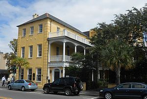 National Register of Historic Places listings in Charleston, South Carolina - Image: Aiken house