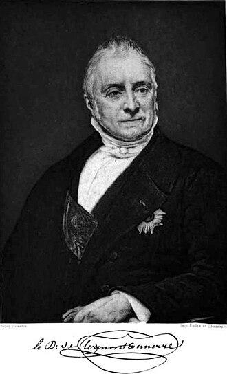 Aimé, duc de Clermont-Tonnerre - The Duke of Clermont-Tonnerre