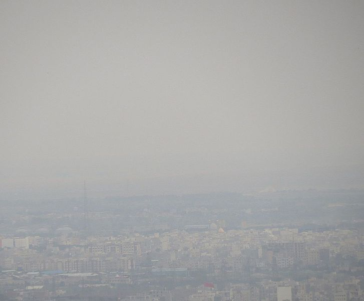 File:Air pollution in Tehran.jpg