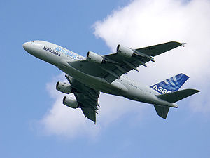 A380 photographed during ILA 2006
