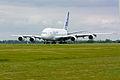 Airbus A380 F-WWDD at ILA 2010 10.jpg