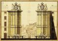 Alçado de projecto não realizado para a entrada da Rua Augusta (c. 1759) - Dionísio de S. Dionísio.png
