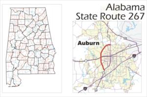 Alabama State Route 267 - Image: Alabama highway 267