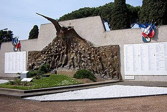 Camille Alaphilippe - The Monument aux morts de Philippeville, by Alaphilippe, transferred since 1969 to Toulouse