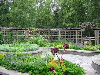 Alaska Botanical Garden - The herb garden