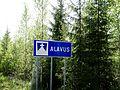 Alavus municipal border sign.jpg