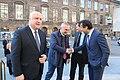 Albanian President Ilir Meta arrives at the Folketing in Copenhagen, 8 April 2019.jpg