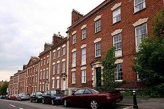 Grade II* listed buildings in Bristol - Image: Albermarle Row Bristol UK