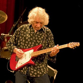 Albert Lee - Albert Lee performing in 2006 with a signature version of his Music Man guitar.