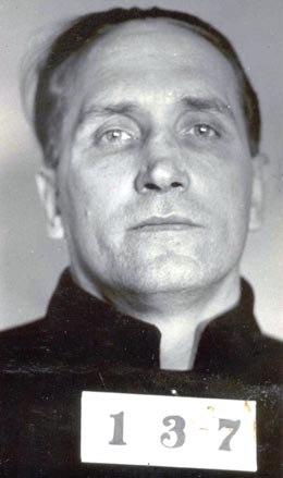 Albert Bates mugshot 1934