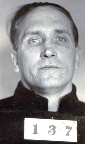Albert Bates (criminal) - BOP mugshot, 1934