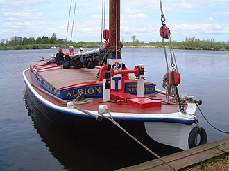 Albion (wherry) - Image: Albion Bill 031