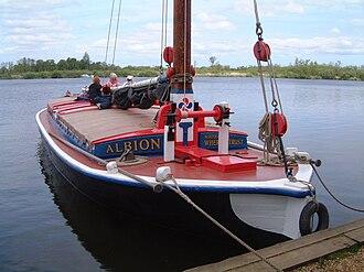 National Historic Fleet - Image: Albion Bill 031