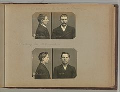 Album of Paris Crime Scenes - Attributed to Alphonse Bertillon. DP263787.jpg