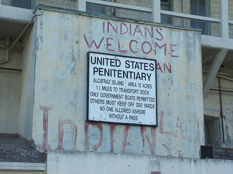 File:Alcatraz Island 01 Prison sign.jpg
