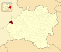 Alcubilla de Avellaneda in Soria Province locator.png