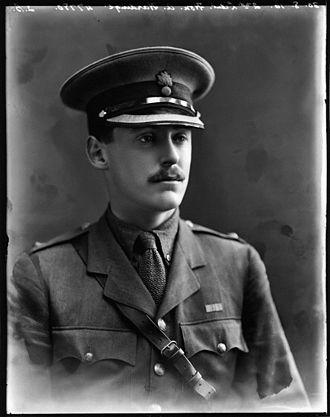Alec Hardinge, 2nd Baron Hardinge of Penshurst - Hardinge in 1916