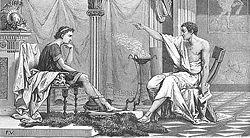 Alexandre et Aristote.